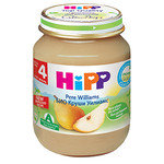 HIPP Био Бебешко пюре/круши/Уилям Крист 4м+ 125 гр.
